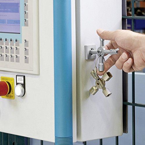Knipex 00 11 01 TwinKey – für Schaltschränke, Fenster und Absperrsysteme - 3