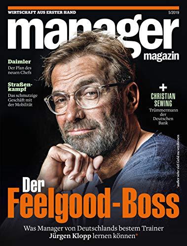 Preisvergleich Produktbild manager magazin 5 / 2019: Der Feelgood-Boss