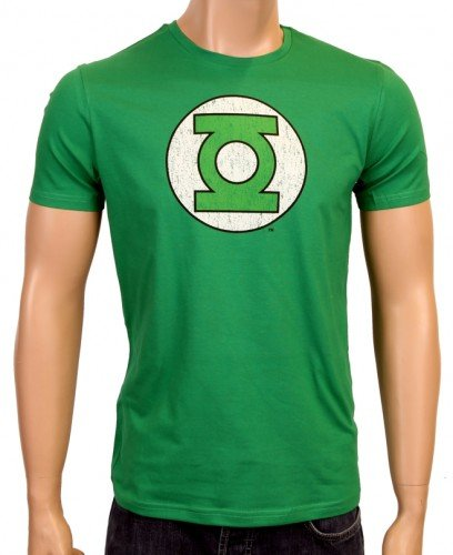 coole-fun-t-shirts-t-shirt-grune-laterne-green-lantern-big-bang-theory-logo-camiseta-color-verde-tal