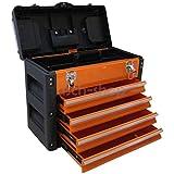 METALL Werkzeugkiste mit 8 Funktionen 3061BB von AS-S