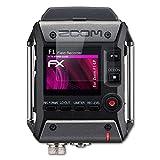 atFoliX Protecteur de Verre en Plastique pour Zoom F1-LP Verre Film Protecteur - FX-Hybrid-Glass élastique 9H Protection Écran Film de Verre en Plastique - Mieux Que Le Verre Pare-balles d'origine