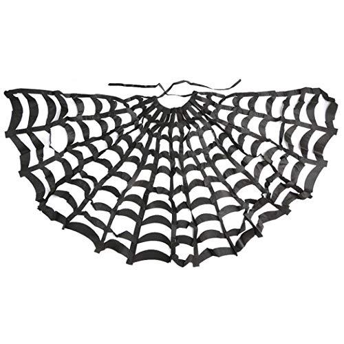 Winter Winner Spinnennetz Cape Hexen Kostüm für Teufel Gothic Vampir Umhang Halloween