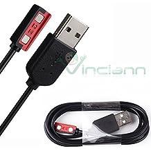 Cavo USB per smartwatch Pebble Steel caricabatteria cavetto alimentatore carica