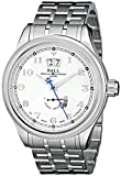 Ball Men's PM1058D-SJ-SL Trainmaster Cleveland Analog Display Swiss Automatic Silver Watch