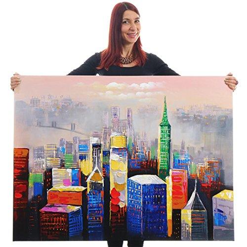 dipinto-a-mano-murale-3d-pittura-ad-olio-su-tela-120x90cm-citta-colorata