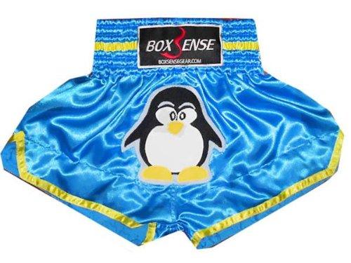 "Kids Boxsense Boxen Muay Thai Box Hose, Thaishort Thaiboxhosen : BXSKID-016 Size XS (21\""-24\"")"