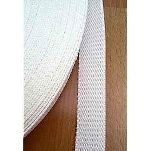 5 m Rolle spezial Rolladengurt – weiss – Breite 23 mm – hohe Reißfestigkeit – UV Beständigkeit…