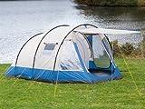 skandika Lyon 5 Personen Familienzelt mit eingenähtem Zeltboden
