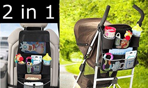 Preisvergleich Produktbild Autositz Organizer Baby Kinder Rollator Reise Rückseite zum Aufhängen Tasche Aufbewahrung Munchkin