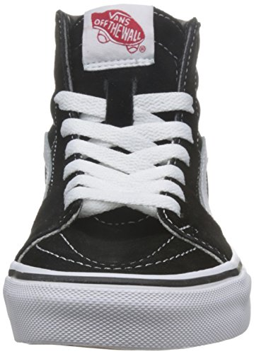Vans Unisex-Erwachsene Sk8-Hi Classic Suede/Canvas Sneaker Schwarz (Black)