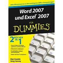 Word 2007 Und Excel 2007 Fur Dummies (Für Dummies)
