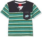 s.Oliver Baby-Jungen T-Shirt Kurzarm, Grün (Green Stripes 73G0), 68