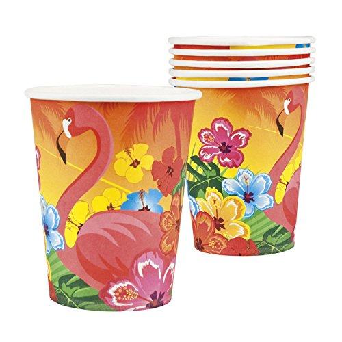 Boland 52520 Flamingo Hibiscus Becher, Mehrfarbig