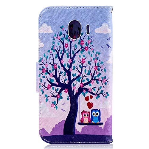 Funda   3D Relief Painting Flip Billetera Samsung Galaxy J4 2018  Patr  n 8