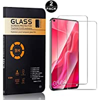 Huawei Honor V20 Screen Protector Tempered Glass, Bear Village® HD Screen Protector, 9H Scratch Resistant Screen Protector Film for Huawei Honor V20, 2 Pack