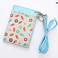 ZZbaixinglongan Great Cute Cartoon Flamingos Women Animals Fruits String Coin Purse Card Holder Zip Small Wallet for Home Decoration(None the picture)