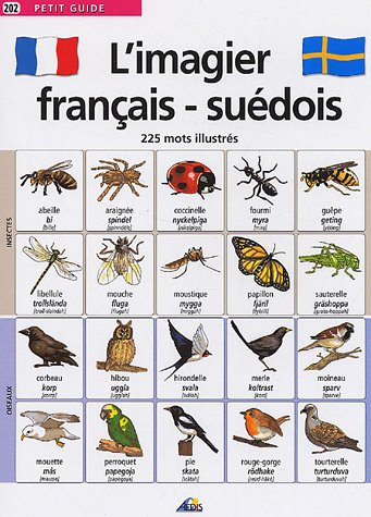 L'imagier français-suédois : 255 Mots illustrés