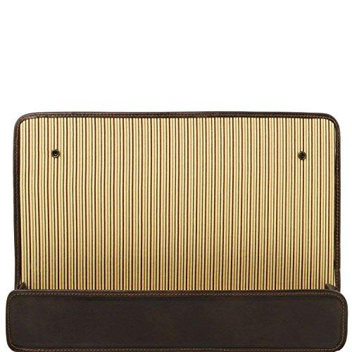 Tuscany Leather - TL Smart Module - Porte Module - Marron foncé