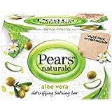 Pears Naturalé Aloe Vera Detoxifying Soap Bar, 125 g (Pack of 3)