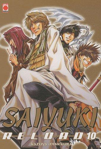 Saiyuki Reload, tome 10