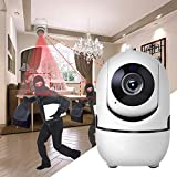SXChmIX 720 / 1080P Indoor Home Security Nachtsicht Pan Tilt Wireless WiFi IP-Kamera - US-Stecker Weiß 1080P *