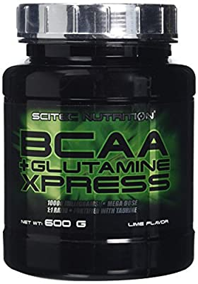 Scitec Nutrition BCAA + Glutamine Xpress Powder - 600g, Lime by Scitec Nutrition