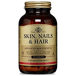 Solgar Skin, Nails & Hair Tablets - 120 Tablets