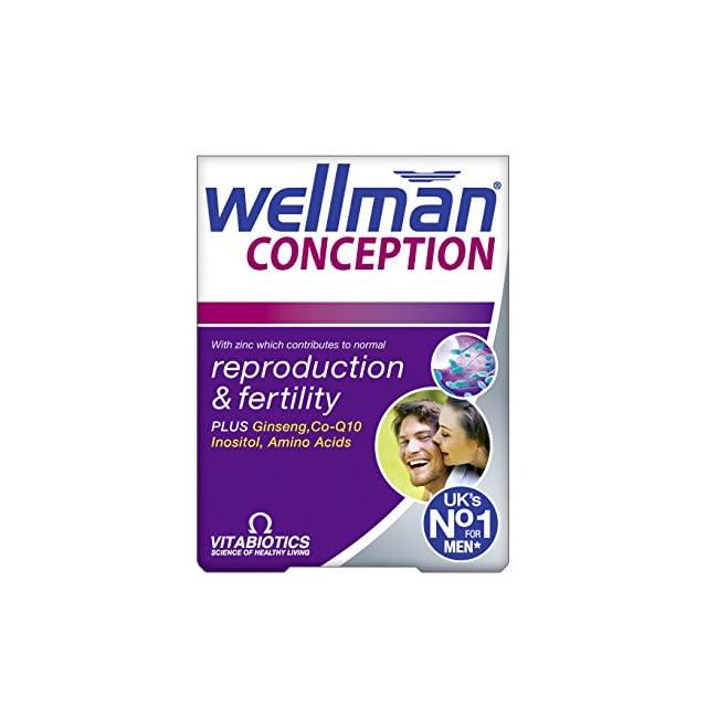 Conception de Vitabiotics Wellman, 30 comprimés