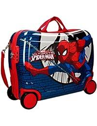 Marvel-Sac de Voyage Spiderman Blue City UQMCJWEY0T