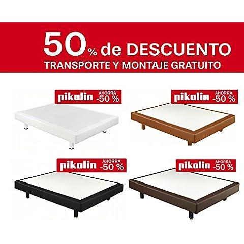 CANAPÉ RÍGIDO PIKOLIN POLIPIEL 3D - ENVÍO Y MONTAJE GRATUITO- DISPONIBLE EN TODAS LAS MEDIDAS (135x190,
