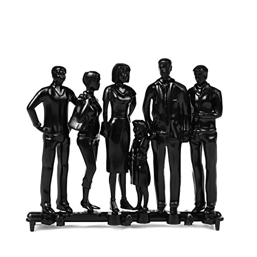 6-model-figures-black-limited-edition-scale-125-approx-g-scale