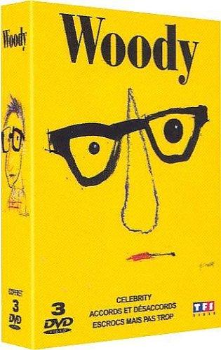 Woody Allen : Accords et désacords / Escrocs mais pas trop / Celebrity - Coffret 3 DVD