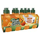 Robinsons Fruit Shoot Orange Kids Juice Drink, 200ml (Pack of 8)