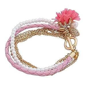 Bracelet romantique aux différentes couleurs bijou fantaisie pas cher