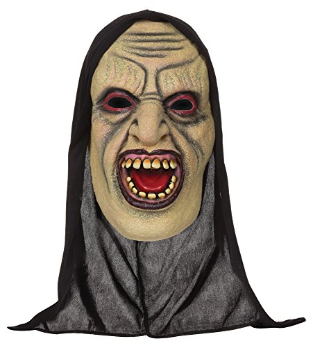 Bristol Novelty bm499 Demon Offen Mouthed Maske mit Kapuze (One Size)
