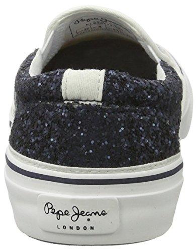 Pepe Jeans Alford Aurelie, Scarpe da Ginnastica Basse Donna Blu (SAILOR)