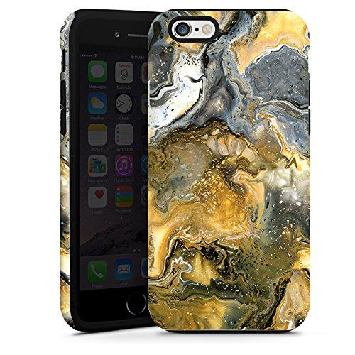 Apple iPhone 4 Housse Étui Silicone Coque Protection Marbre Style Cas Tough terne