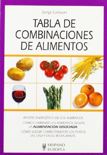 Descargar Libro Tabla de combinaciones de alimentos (Tablas de alimentos) de Sonja Carlsson