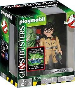 Playmobil- Ghostbusters Figura Coleccionable E. Spengler Juguete, Multicolor (geobra Brandstätter 70173)