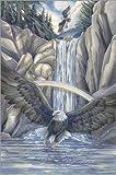 Wood print 80 x 120 cm: Sacred waters by Jody Bergsma / MGL Licensing
