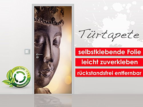 papel-pintado-para-puerta-meditacion-en-formato-90-x-210-cm-etiqueta-premium-pantalla-faciles-de-peg