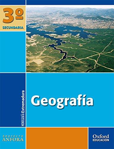 Geografía 3º ESO Ánfora (Extremadura). Pack (Libro del Alumno + Monografía + Mapas) - 9788467330922