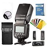 Godox TT685S TTL Maestro-Esclave GN60 2.4G Transmission Flash Speedlite HSS 1 / 8000S avec diffuseur de softbox et filtres de Couleur Flash pour appareils Photo Reflex Sony