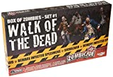 Guillotine Games - Zombicide, Gioco da tavolo - Espansione n° 1 'Walk of The Dead: Set di miniature di Zombie [importato da UK]