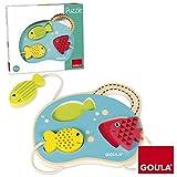 Goula - Puzzle con mar, Juguete para bebé, Color Azul, Rojo y...