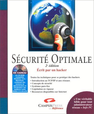 Sécurité Optimale - Seconde Edition (CD rom)