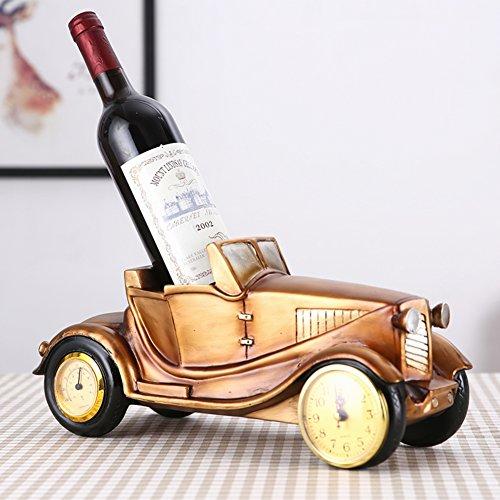 bestwineholder European Flaschen Wine Rack, Reaationary Wine Holder Kreativ Stark und Dekorativ...