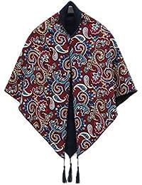 47a4ce0bf5b11 Style Printemps Femmes Echarpe Vintage Echarpes En Cachemire Triangle Et  Wraps Dame D hiver Foulards