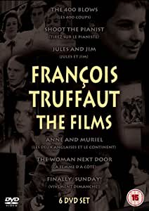 The Francois Truffaut Collection - 6 Disc Box Set (Exclusive to Amazon.co.uk) [DVD]