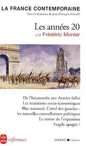 La France des années 20